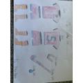 Hockey kit with a 'velcro logo'