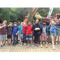 Miss Evett's group
