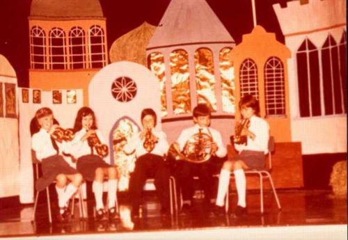 Susan Neill first left playing the violin.