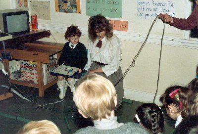 Michelle Legge with Mrs Paterson