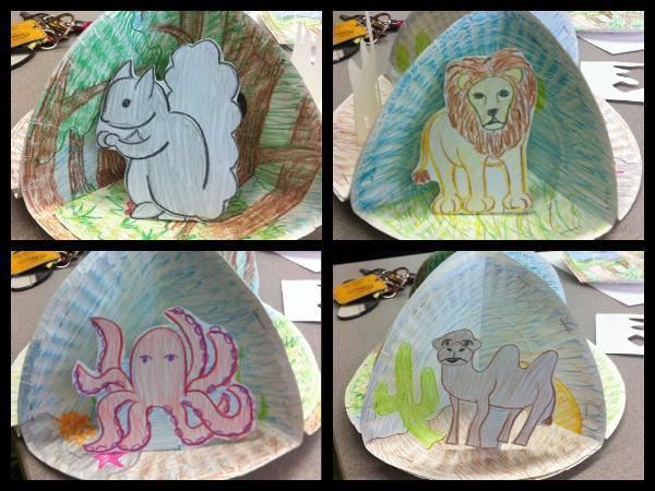 Illustrate some habitats to show your learning!