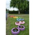 Elmhurst School Aylesbury  Rainbow featured in Aylesbury in Bloom