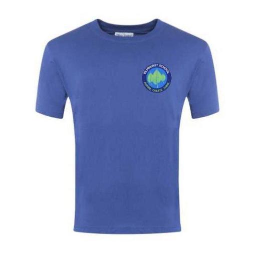Elmhurst School Logo PE Tshirt