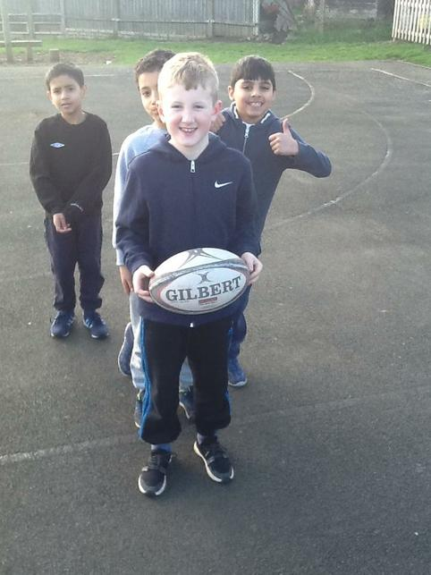 Ready for a rugby session