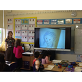 She gave Year 5 tips on their work.