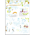SS10 wishing story based on The great Kapok Tree by Lynne  Cherry