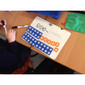 We represent numbers with numicon
