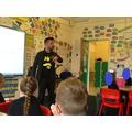 Matt helped us create a class poem.