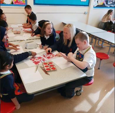 Parent/Carer Poppy day workshops