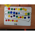 We represent numbers with counters