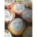 Miss Lovell made 400 cakes with our key values on them