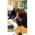 She helped Year 5 with their illustrations.