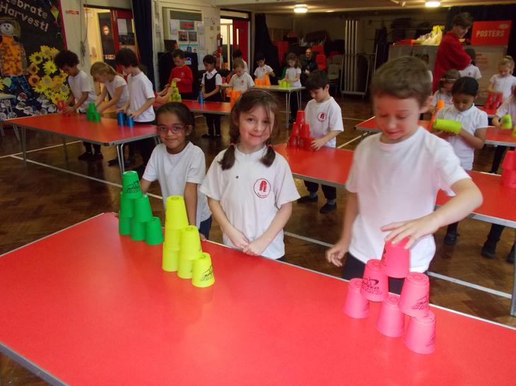 Cupstacking challenge