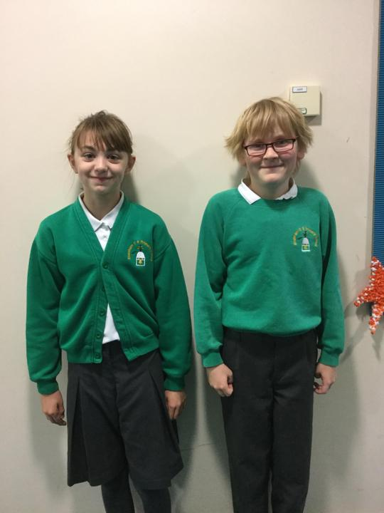 Year 5: Chloe and Dylan