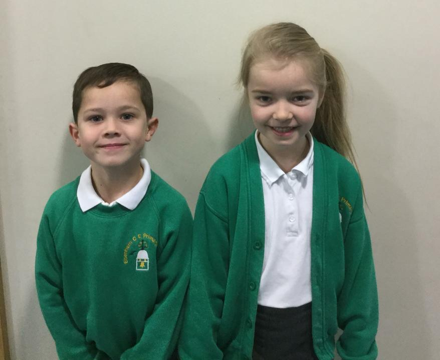 Year 2: Oliver and Scarlett