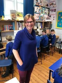 Mrs Robson KS2 teacher