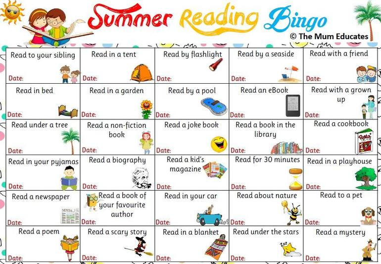See how many of these challenges you can complete over the summer holidays.