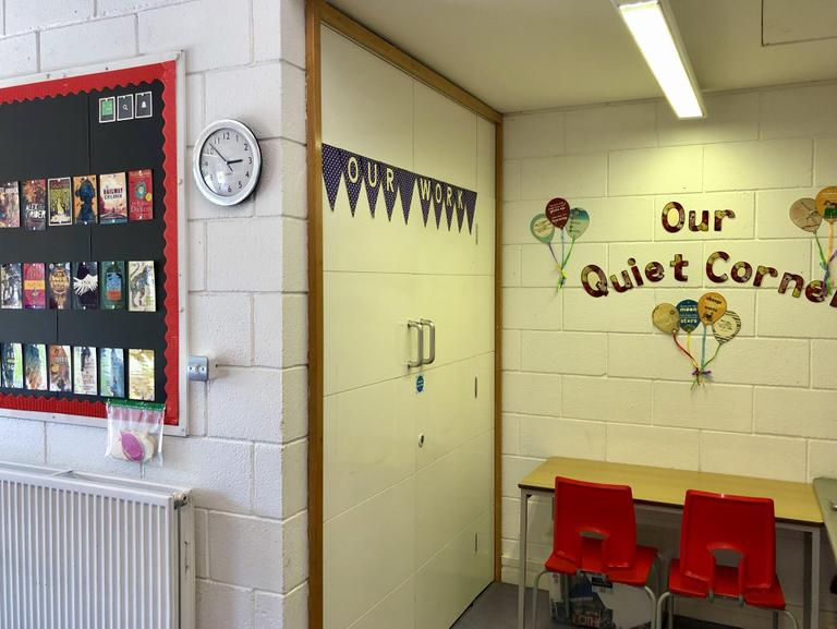 'Our Quiet Corner' for independent or group work.