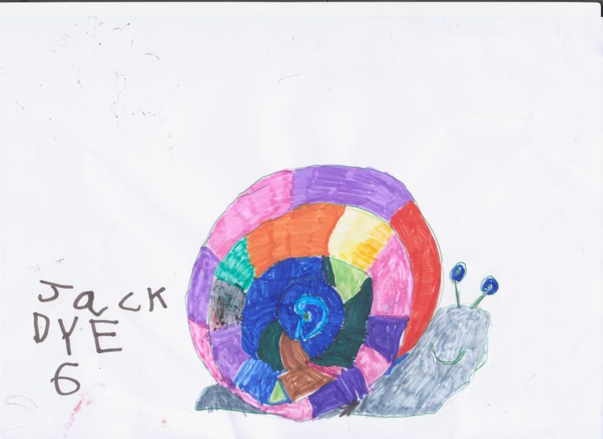 Jack Dye age 6 of Market Drayton Infants School