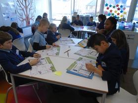 Visit from Winchester University in MacArthur Class (January 19th 2017) 3