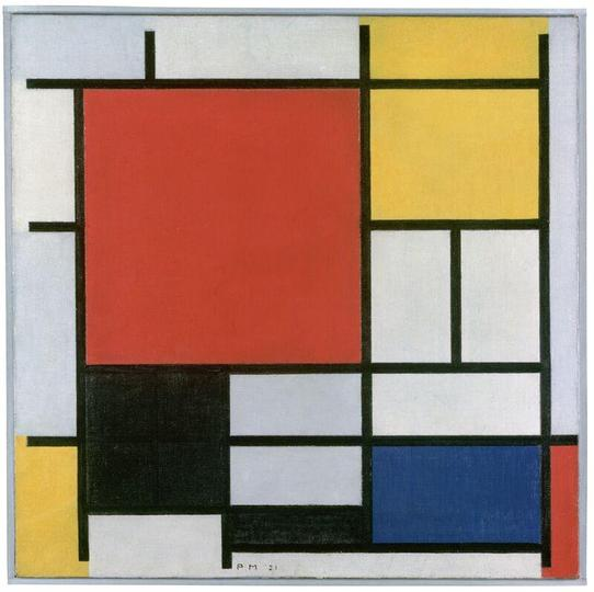 Mondrian- Abstract Expressionism