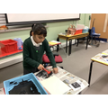 Making our own polystyrene prints