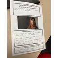 Work on Mala Yousafzai
