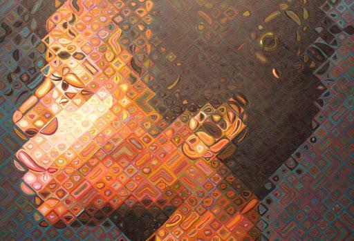 Chuck Close- Contemporary Art