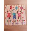Hafsa's Lollipop Stick Jigsaw