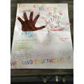 Laiba's Anti Bullying Poster