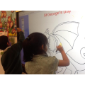 We used our ICT skills to paint the dragon!