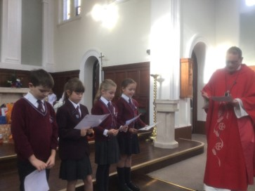 Chaplains with Father Kieren