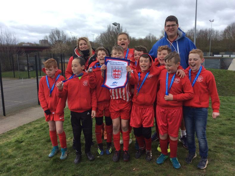 Year 6 Regional Runners up Football Team