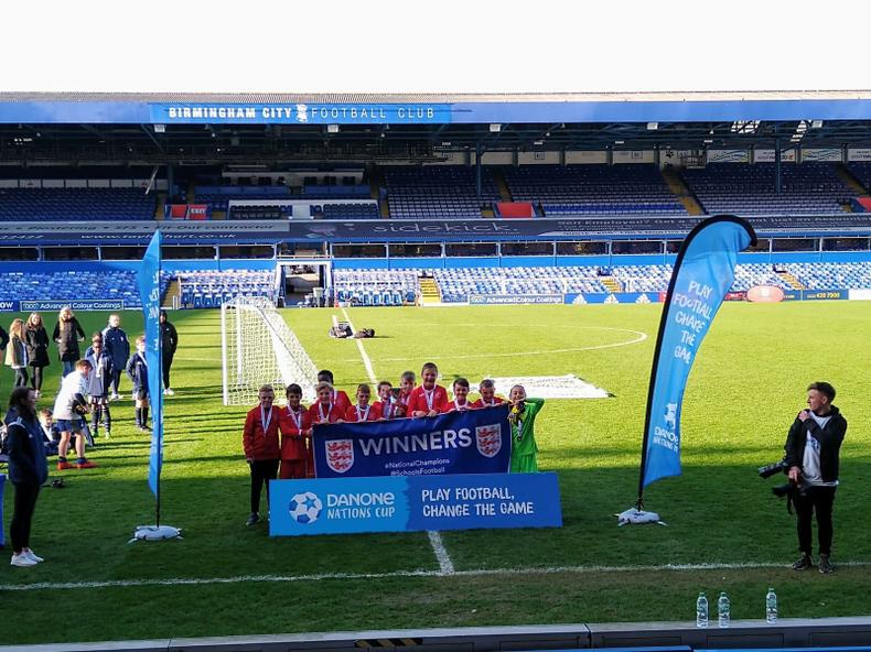 Year 6 Danone Nations Cup Winners