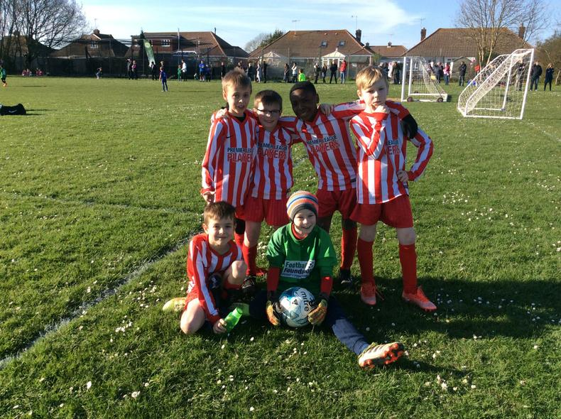 Year 4 Football Team 3rd Place