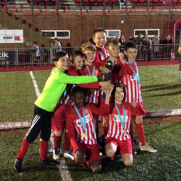 Year 6 Football League Winners