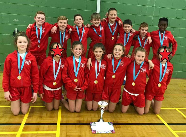 Year 6 Indoor Athletics Winners