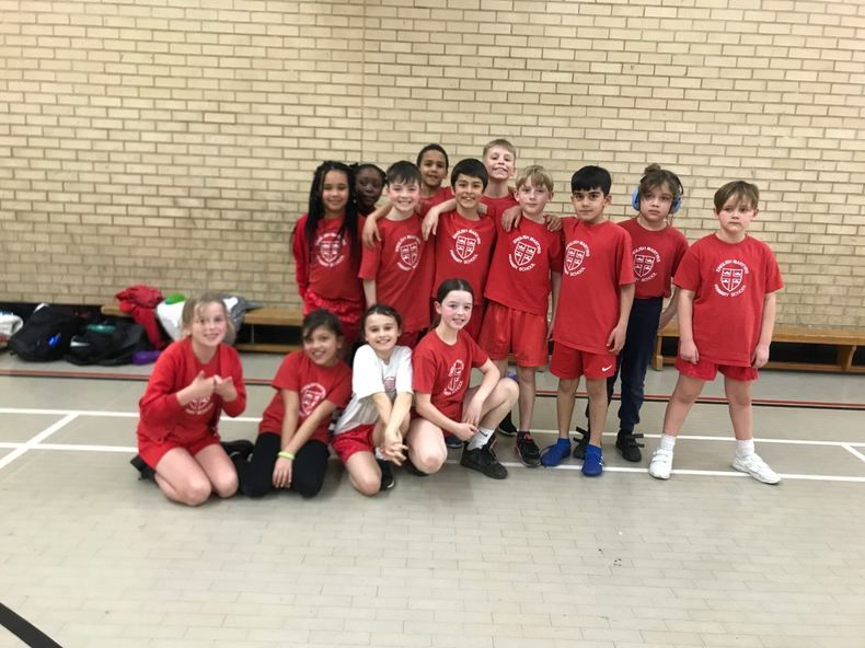 Years 3 and 4 Indoor Athletics 2nd Place