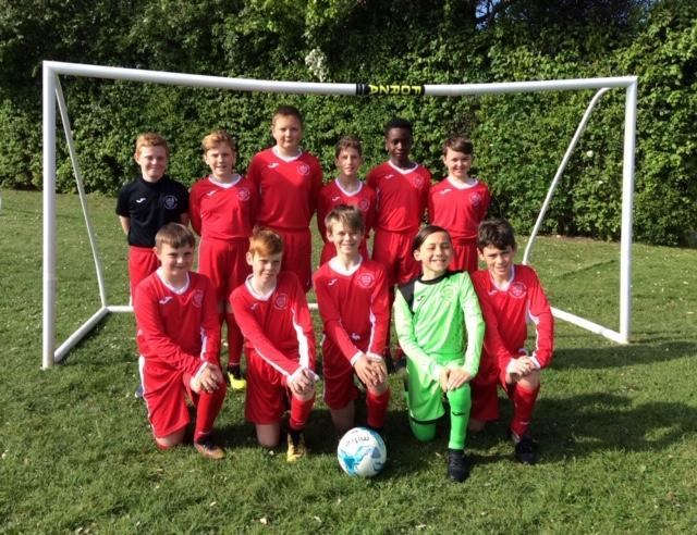Year 6 Nationals Football Team
