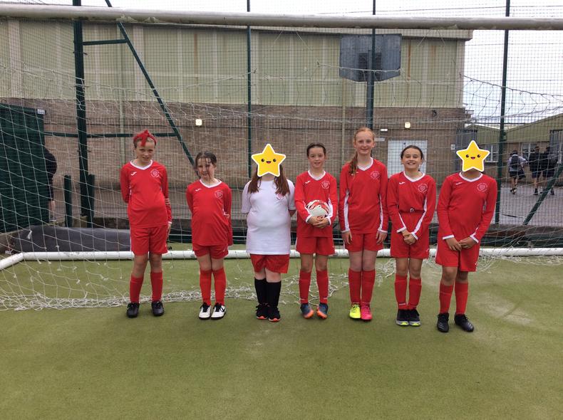 Year 6 Girls Football Team