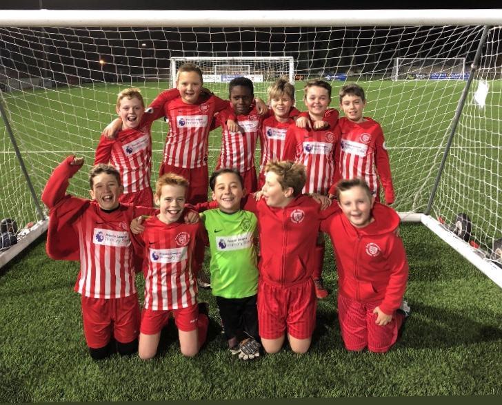 Year 6 County Football Team Winners