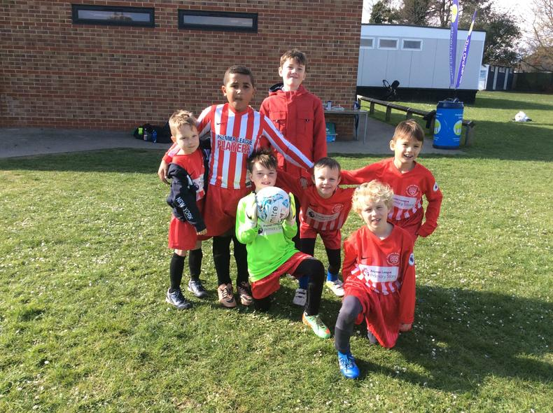 Year 2 Football Team 3rd Place