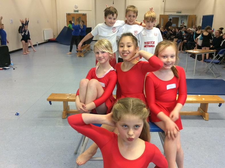 Year 3/4 Gymnastic Team 2nd Place