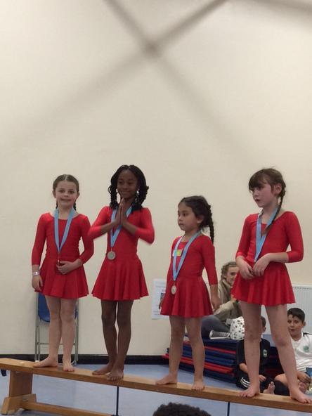 Girls Gymnastics 2nd Place