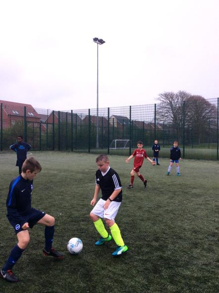 Year 6 Nationals Football Training
