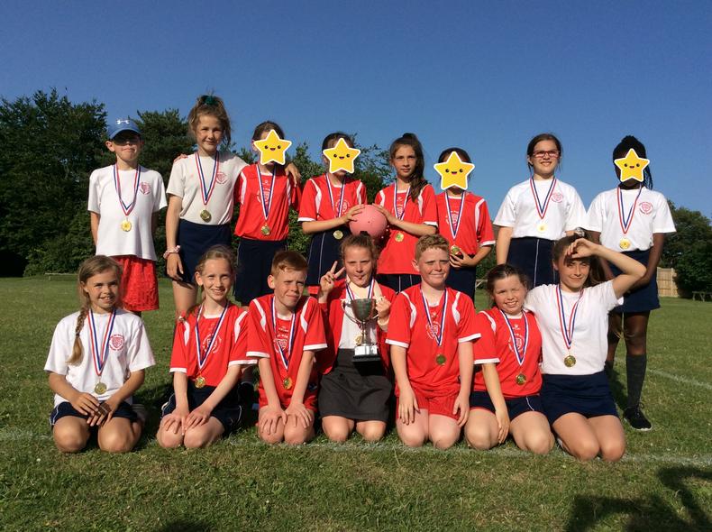 Knights of St Columba Netball Winners & Runners up