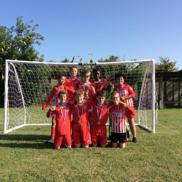 Knights of St Columba Football Winners