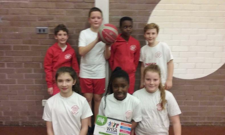 Year 6 Basketball Team 3rd Place