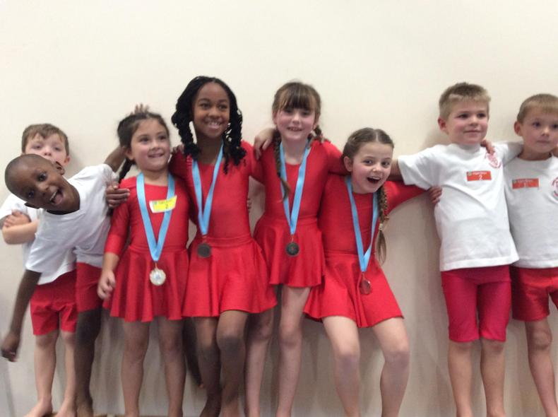 Years 1 and 2 Gymnastics 3rd Place