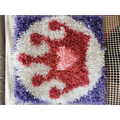 Arwa has crafted an amazing rug